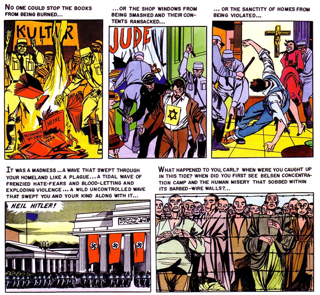 armee comic 70er