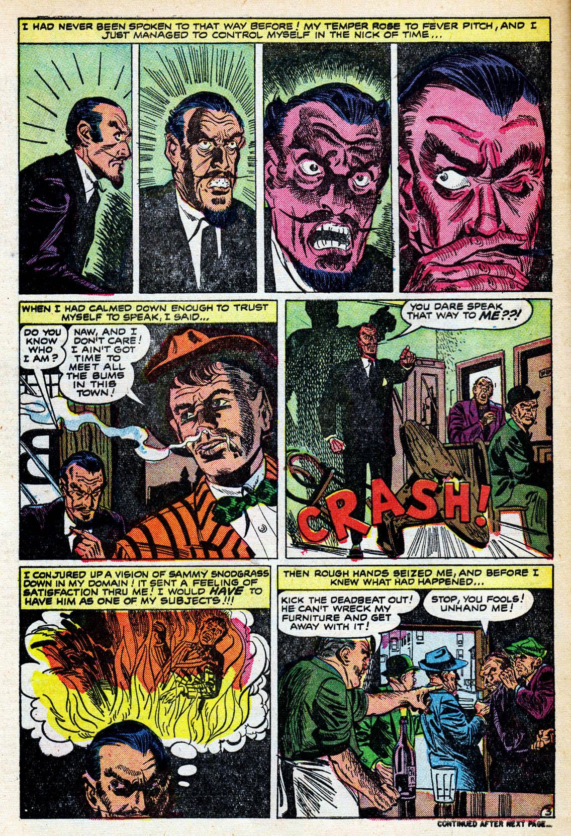 Satan and Sammy Snodgrass | Fifties Horror